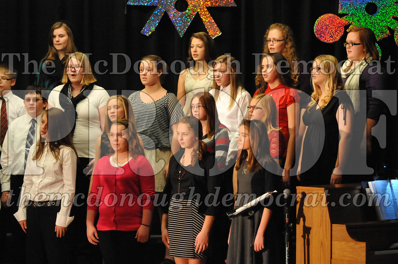 BPC JH-HS Chorus Christmas Program 12-15-13 018