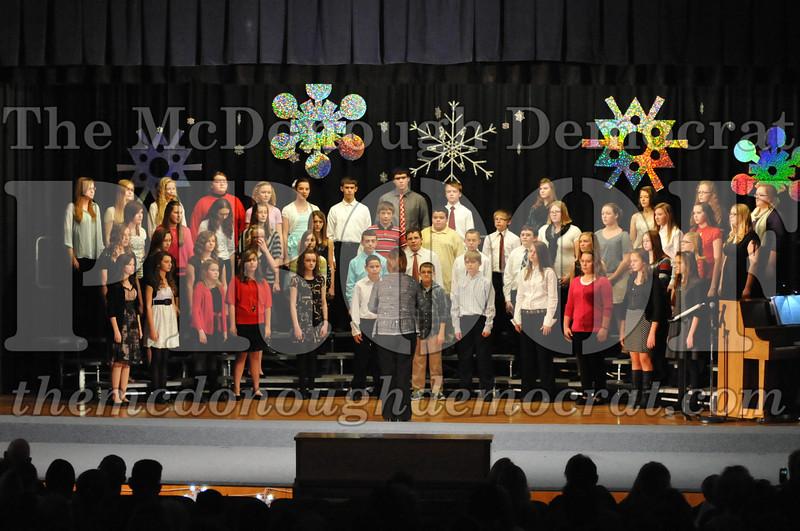 BPC JH-HS Chorus Christmas Program 12-15-13 027