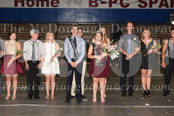 HS Homecoming Coronation 09-15-18