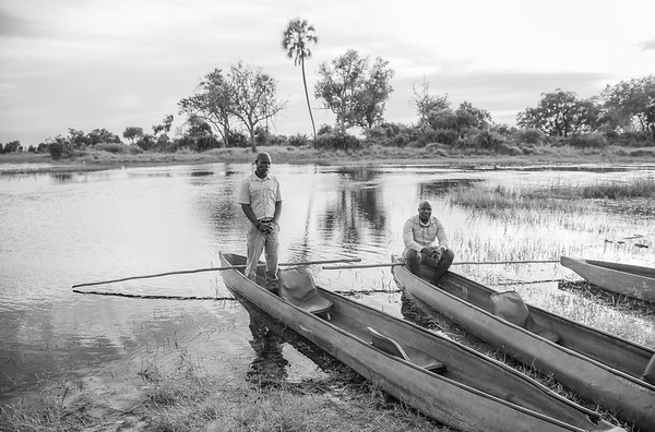 Two Guides, Botswana