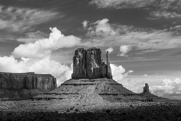 Mitten, Monument Valley, Arizona