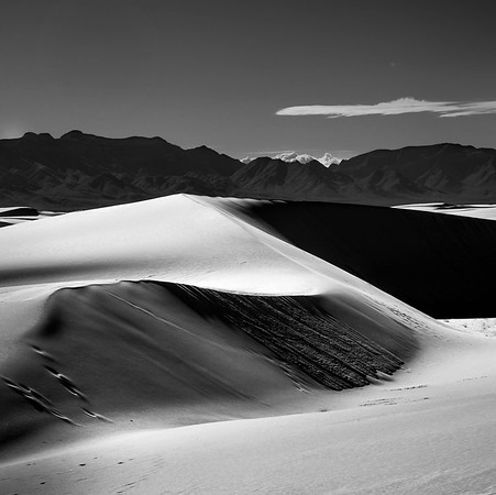 Sweeping Sand Dunes, White Sands National Monument