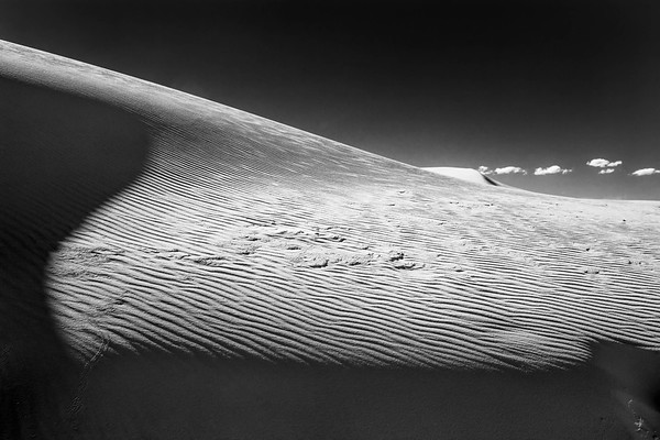 Clouds and Dunes, White Sands National Monument