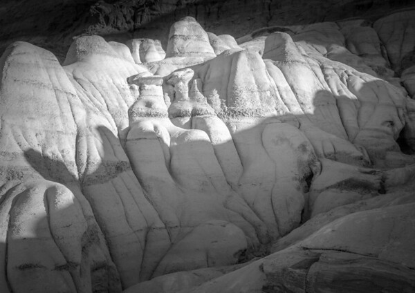 Erosional Forms and Shadows Alberta