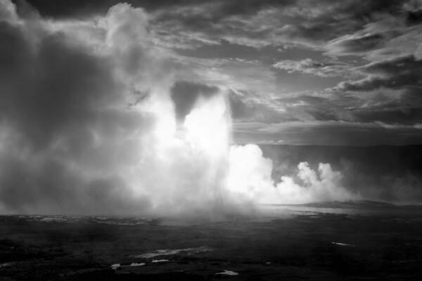 Geyser Blast Yellowstone