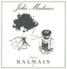 BALMAIN Jolie Madame 1966 France small format