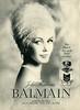 PIERRE BALMAIN Jolie Madame 1965 Germany ' Ein Hauch der auf Paris verführt'