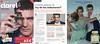 ANTONIO BANDERAS Queen of Seduction 2016 Spain 3 associated pages (Clarel stores)