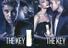 JUSTIN BIEBER The Key 2013 US (Macy's stores) recto-verso with scented strip 'The new fragrance for her'