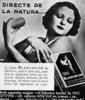 BLANCAFLOR soap 1933 Spain (text in Catalan) small format 'Directe de a natura'