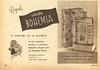 BOHEMIA Loción 1948 Argentina half page 'Regale Loción Bohemia, el perfume de la alegría'