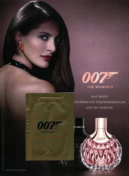 BOND 007 for Women 2016 Germany (ahndbag size format with sachet sample)