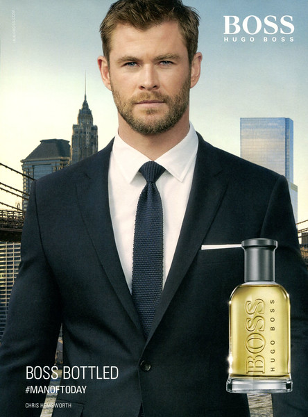 BOSS Bottled 2017 Spain '#MANOFTODAY- Chris Hemsworth'