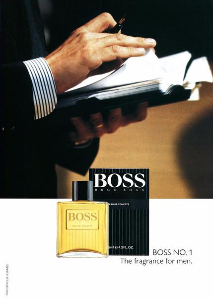 BOSS Eau de Toilette 1992 France 'Boss No. 1 - The fragrance for men'