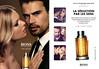 BOSS The Scent for Him 2016 France (recto-verso with bottle-shaped scent card) 'Elle et les parfums de Hugo Boss - La séduction des sens'