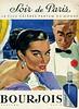 BOURJOIS Soir de Paris 1957 France 'Le plus célèbre parfum du monde'