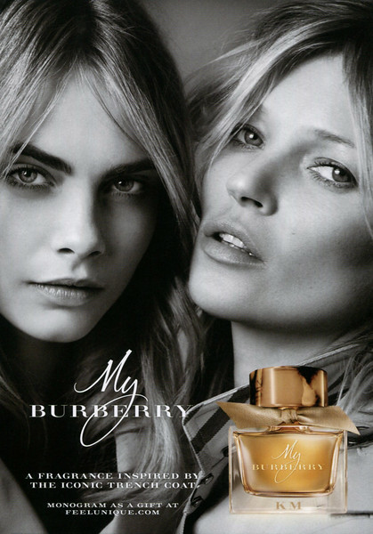 My BURBERRY 2015 UK (format 15 x 21 cm) 'A fragrance inspired by the iconic trench coat - Monogram as a gift at burberry. com'