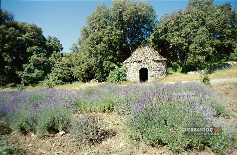 Capitelle dans le Gard; stone house in Southern France