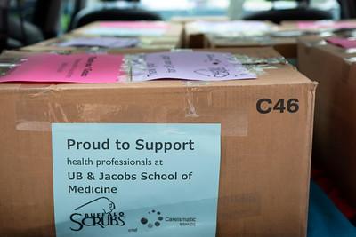 Buffalo Scrubs Donation