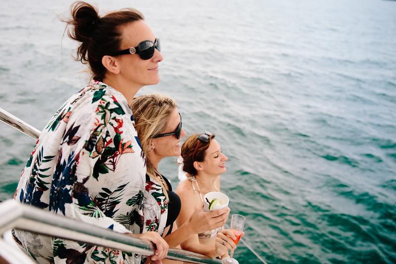 beach, boat party, rehearsal party, phuket Hype Boat, Phuket wedding party, Koh Yao Yai wedding, Catamaran cruise