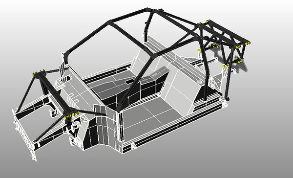 3  Chassis with Front and Rear Structures