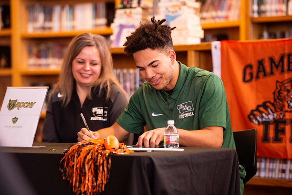 Rocky Mountain Signing Idaho Falls Tigers Football