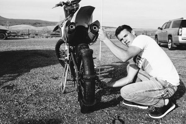 Kaden Anderson Senior Sand Dunes Motorbike