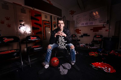 Cooper Peterson Idaho Falls Tigers Basketball
