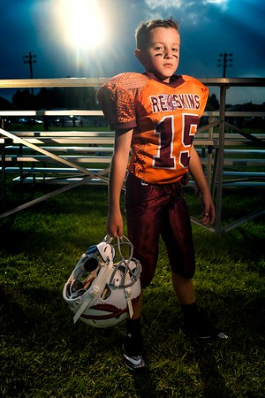 Kason Richardson Teton Redskins Grid Kid Football