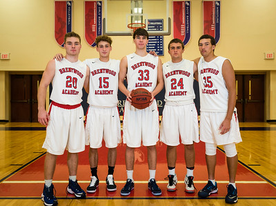 Boys Basketball Team shots for Hubie