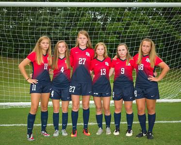 Girls Soccer Team 08-18-16