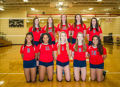 BA Volleyball  2016 Team Pictures