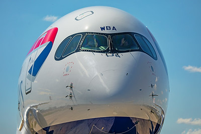 British Airways Airbus A350-1041 G-XWBA 7-29-19 12