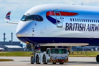 British Airways Airbus A350-1041 G-XWBA 7-29-19 20