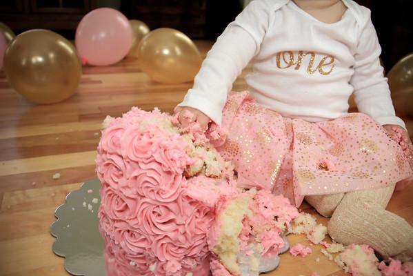 Evelyn - First Birthday