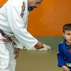 Gabe 4th stripe on white belt-54