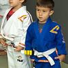 Gabe 4th stripe on white belt-45