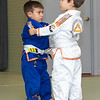 Gabe 4th stripe on white belt-4