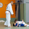 Gabe 4th stripe on white belt-2