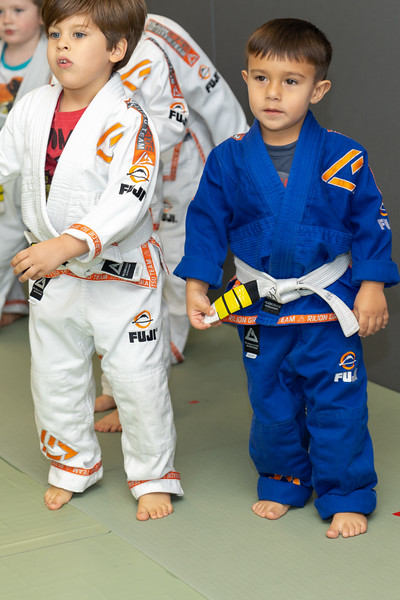 Gabe 4th stripe on white belt-39