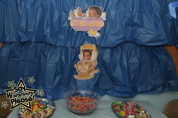 Kima and Anthony's Baby Shower Baby