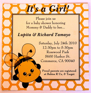 LUPITA & RICHARD TAMAYO BABY SHOWER @ ROSEWOOD PARK RECREATION ROOM • 07.24.10