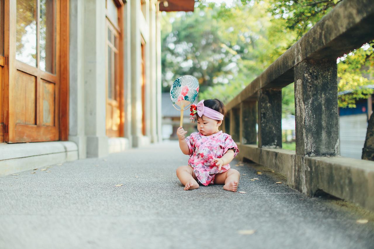 《寶寶寫真兒童攝影》日本和服女孩 / 台中刑務所演武場道禾六藝文化館