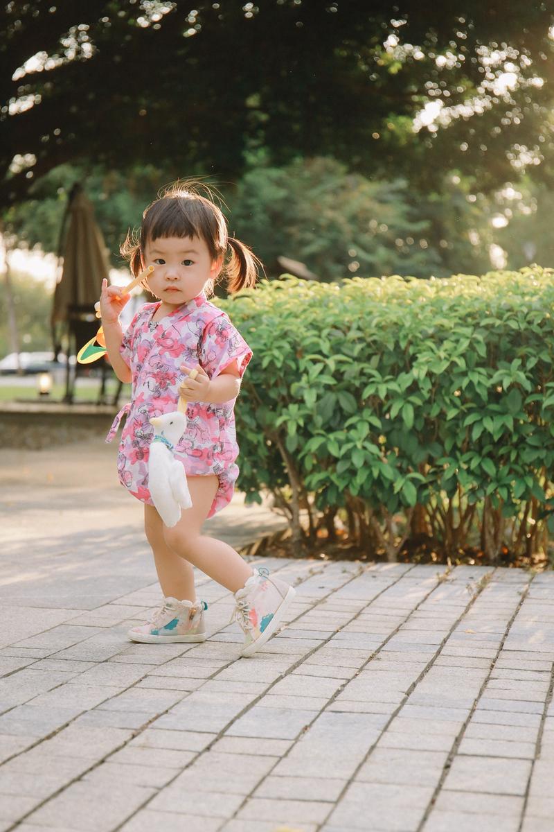 《親子兒童寫真攝影》日本兒童浴衣小甚平 / 台中推薦攝影師