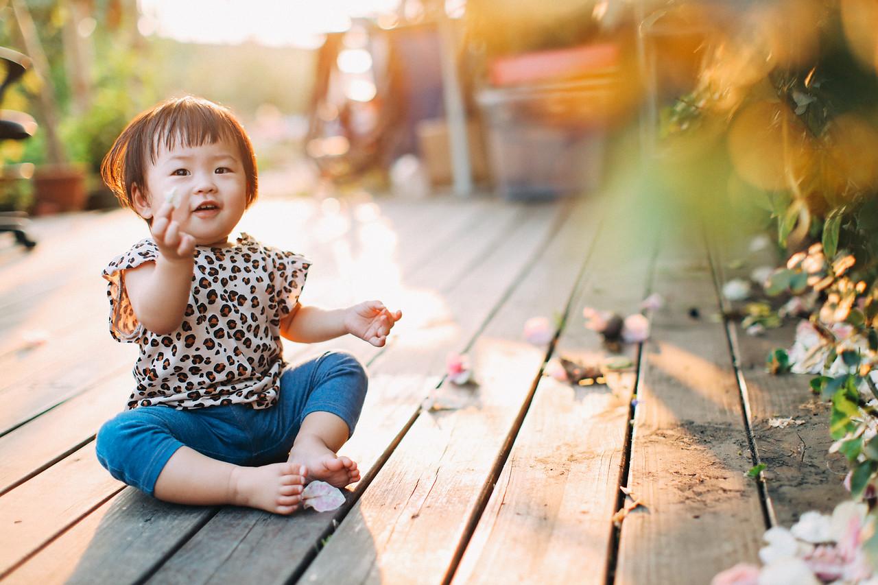 《親子兒童寫真攝影》可愛的豹紋小公主 / 台中推薦