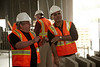 San Francisco, GA - BAC Executive Board - Bricklayer and Allied Crafts Executive Board visit the jobsite of a new Lowes and the new International terminal at the San Francisco Airport where local 3 members are working on - Tile, Marble Terazzo as well as brick and block at the Lowes. Date: Tuesday July 27, 2010 Photo by © BAC/Todd Buchanan 2010  Technical Questions: todd@toddbuchanan.com; Phone: 612-226-5154.