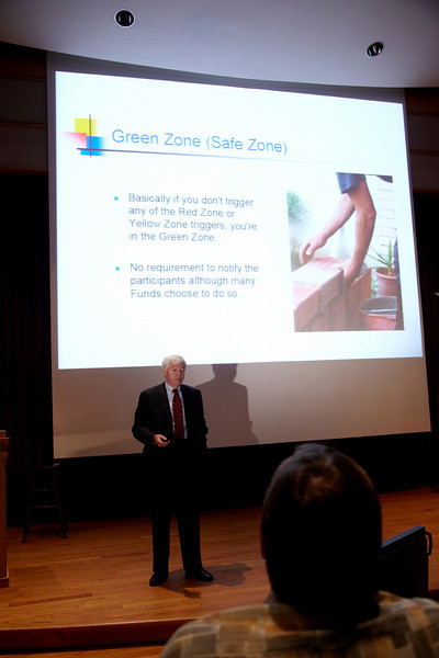 South Bend, IN -BAC 2009 Local Leadership Conference: Brian O'Dwyer addresses the Plenary Session at the Bricklayers and Allied Crafts 2009 Local Leadership Conference here today, Wednesday August 12, 2009. The  Local Leadership Conference is held each year on the campus of Notre Dame University in South Bend, IN. Date: Wednesday August 12, 2009 Photo by © BAC/Todd Buchanan 2009  Technical Questions: todd@toddbuchanan.com; Phone: 612-226-5154.