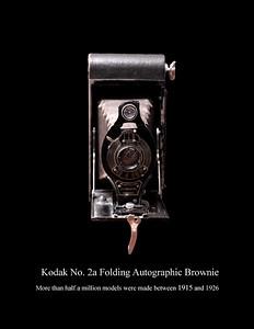 Kodak No. 2A Folding Autographic Brownie