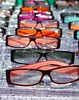 glasses for close up view in rows many eye glasses