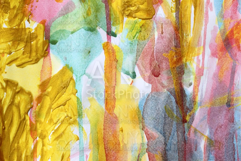 abstract watercolor paint colorful artwork